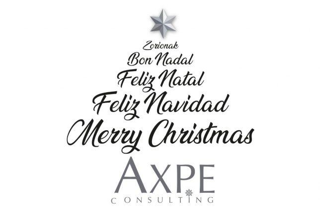 Feliz Navidad AXPE