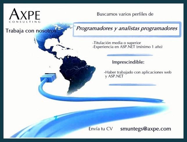 AXPE oferta