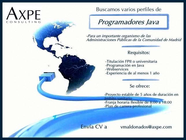 AXPE Programador Java