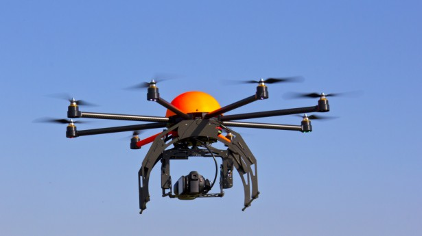 Se extiende el uso de los drones en el ámbito civil.