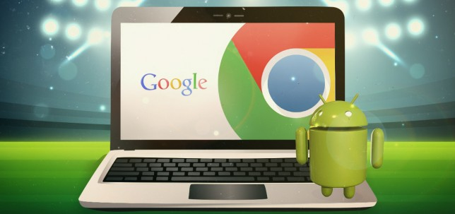Chrome OS con Android
